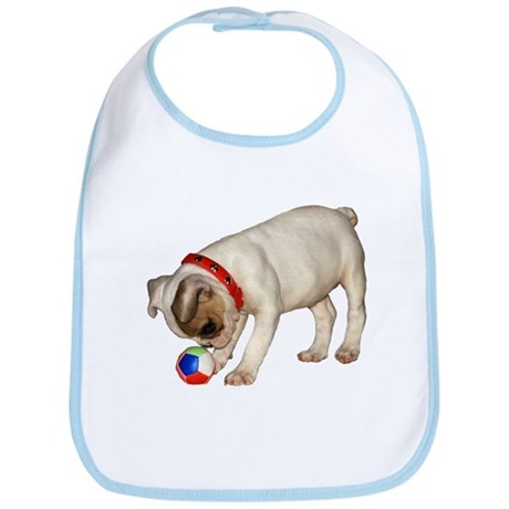 """French Bulldog 1"" Bib"