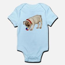 """French Bulldog 1"" Infant Bodysuit"