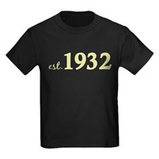 Est 1932 (Birth Year) T