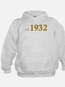 Est 1932 (Birth Year) Hoodie