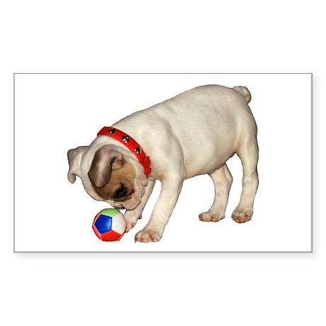 """French Bulldog 1"" Sticker (Rectangle 50"