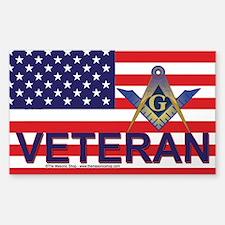 Masonic Veterans Decal