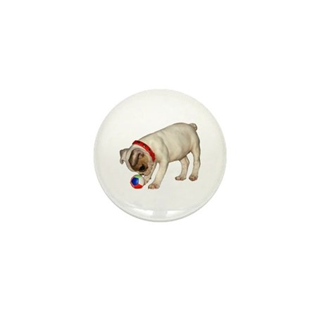 """French Bulldog 1"" Mini Button"