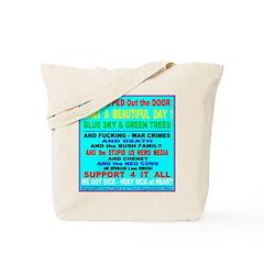 Bu$h NeoCon WAR CRIMES Tote Bag