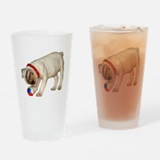"""French Bulldog 1"" Drinking Glass"