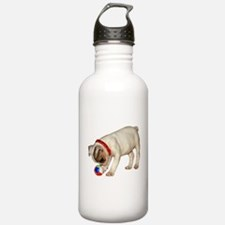 """French Bulldog 1"" Water Bottle"