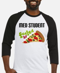 Med Student Funny Pizza Baseball Jersey