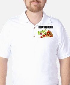 Med Student Funny Pizza T-Shirt