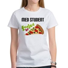 Med Student Funny Pizza Tee