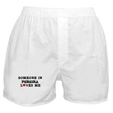 Someone in Pereira Boxer Shorts