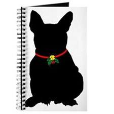 Christmas or Holiday French Bulldog Silhouette Jou