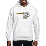 Shaving Brush Cup Hooded Sweatshirt