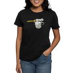 Shaving Brush Cup Women's Dark T-Shirt