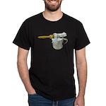 Shaving Brush Cup Dark T-Shirt