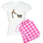 Pushing Lawnmower Women's Light Pajamas