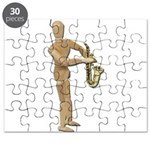 Playing Simple Sax Puzzle