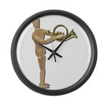 Play Simple French Horn Large Wall Clock