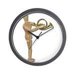 Play Simple French Horn Wall Clock