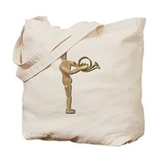 Play Simple French Horn Tote Bag