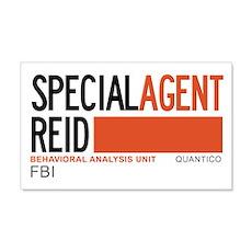 Special Agent Reid Criminal Minds 22x14 Wall Peel