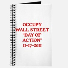 """OCCUPY """"DAY OF ACTION"""" . Journal"""