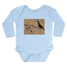 Quail Family Long Sleeve Infant Bodysuit