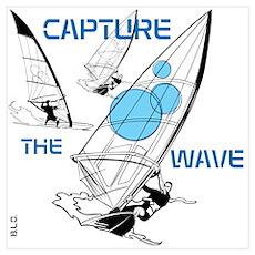 BLO Wind Surfer design Poster