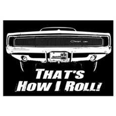 How I Roll - Charger Framed Print