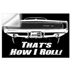 How I Roll - Charger Wall Decal