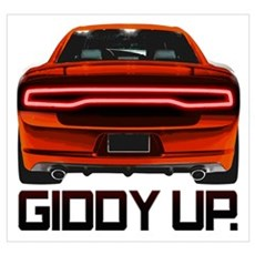 Charger - Giddy Up Canvas Art