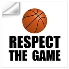 Respect Basketball Wall Decal