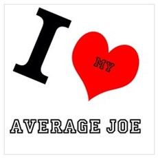 I <3 My Average Joe Poster