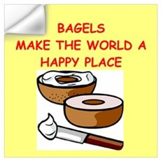 bagels Wall Decal