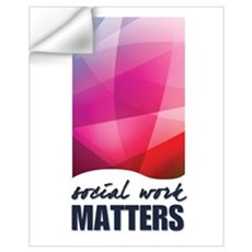 Social Work Matters Wall Decal