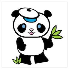 Lil' Panda Boy Poster