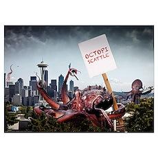 Octopi Seattle Poster