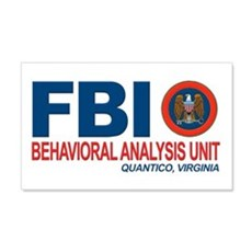 Criminal Minds FBI BAU 22x14 Wall Peel