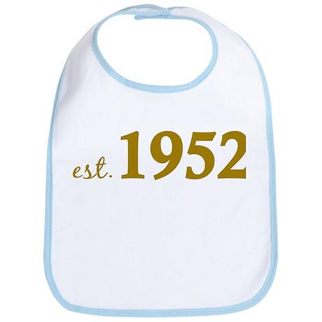 Est. 1952 (Birth Year) Bib