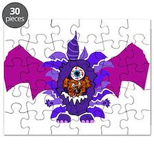 Unique Purple people eater Puzzle
