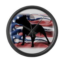 Pit Patriot Large Wall Clock