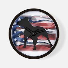 Pit Patriot Wall Clock