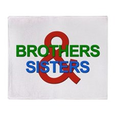 Brothers & Sisters Television Throw Blanket