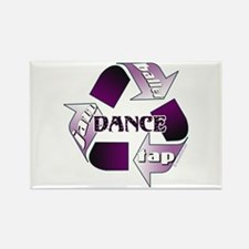 Recycle Dance Rectangle Magnet