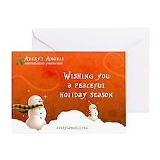 Snowman Wish Greeting Card