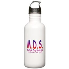 Multiple Dog Syndrome Water Bottle