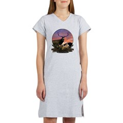 Monster mule deer. Women's Nightshirt