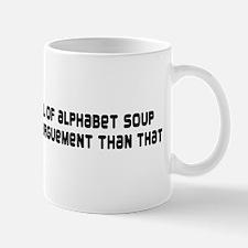Shit arguement Mug