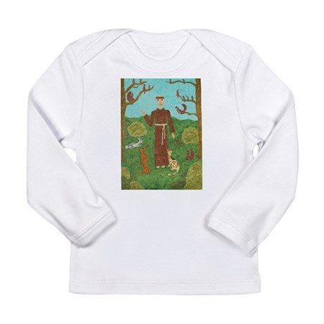Saint Francis of Assisi Long Sleeve Infant T-Shirt