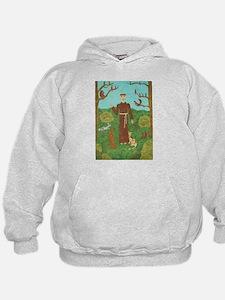 Saint Francis of Assisi Hoodie