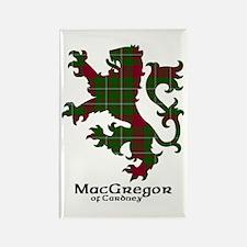 Lion - MacGregor of Cardney Rectangle Magnet